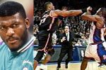 Larry Johnson Charlotte Hornets New York Knicks