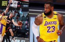 Goran Dragic kontuzjowany, Lakers miażdżą Miami na otwarcie NBA Finals