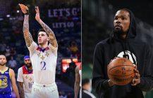 NBA: Lonzo Ball skubnął Golden State, Brooklyn trafia, Brooklyn przegrywa