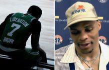 Westbrook śmieje mi się w twarz, Jaylen Brown kończy sezon!