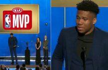 Nagrody NBA: zalany łzami Giannis Antetokoumpo tegorocznym MVP!