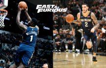 NBA: Lonzo i Zion odpalają wrotki, Spurs nie zdążają do obrony