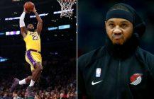 Carmelo Anthony ponownie graczem NBA, LeBron przechodzi do historii