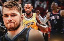 Luka Doncic pisze historię NBA, ósma kolejna wygrana Houston Rockets!