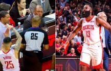 NBA: Harden ośmiesza Kawhi Leonarda, Austin Rivers wyrzucił ojca z boiska!