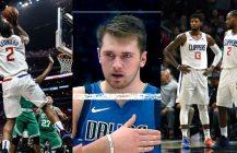 NBA: Kawhi i PG-13 nareszcie razem, fenomen Luki Doncica trwa
