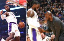 NBA: fantastyczne strzelanie Denver, dziadzia LeBron znów się popisuje