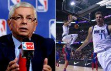 Komisarz NBA walczy o życie, Luka Doncic największą atrakcją koszykówki