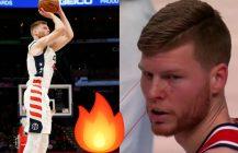 NBA Davis Bertans: Łotewski Laser