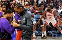 NBA: Kawhi odebrał swój pierścień, 55 punktów Jamesa Hardena