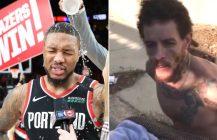 NBA: Damian Lillard ustanawia punktowy rekord, ostateczny upadek Delonte Westa