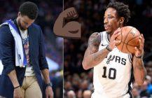 NBA: DeMar DeRozan gra basket życia, Stephen Curry wraca na parkiety!