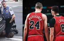 Zimna wojna w szatni Chicago Bulls, śmierć pod butem policjanta, NBA reaguje