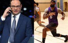 NBA: LeBron James bez hasła na koszulce, Adrian Wojnarowski zawieszony!