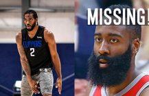 NBA: Westbrook zainfekowany, Harden zniknął, Joker i Kawhi przylecieli