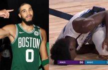 NBA: Jonathan Isaac zerwał ACL, wielkie przebudzenie Jaysona Tatuma
