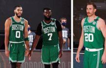Powrót Gordona Haywarda, doskonały występ gwiazd Boston Celtics, mamy serię!