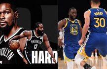 Harden i Durant demonstrują siłę, Stephen Curry z kolegami bije mistrzów NBA!