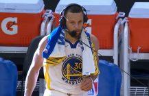 Rzucana koszykówka też jest dobra, Stephen Curry winduje Warriors!