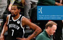 Kevin Durant i Mike Budenholzer: dwa bieguny NBA