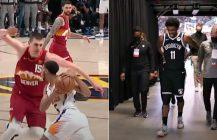 NBA znów nieobliczalne: Kyrie Irving kontuzjowany, Nikola Jokic kończy sezon czopsem