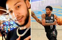 Ben Simmons odrzuca zaloty zawodników Sixers | skandaliczna wypowiedź ciotki Kyrie Irvinga