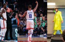 Awantura w Madison Square Garden: Knicks wygrywają | LaMelo Ball gwiazdą NBA